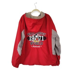 DISNEY Mickey Mouse Felt & Embroidered Design Hooded Jacket